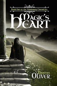 The new cover for Magic's Heart, designed and created by James Willis at SpiffingCovers